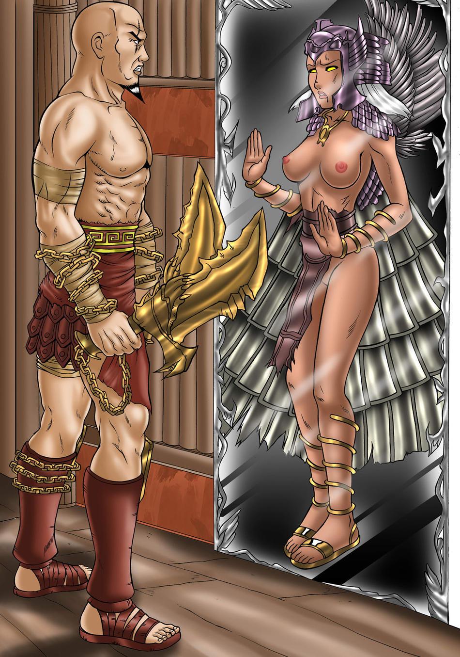 god war of hot aphrodite 3 Amazing world of gumball mrs simian
