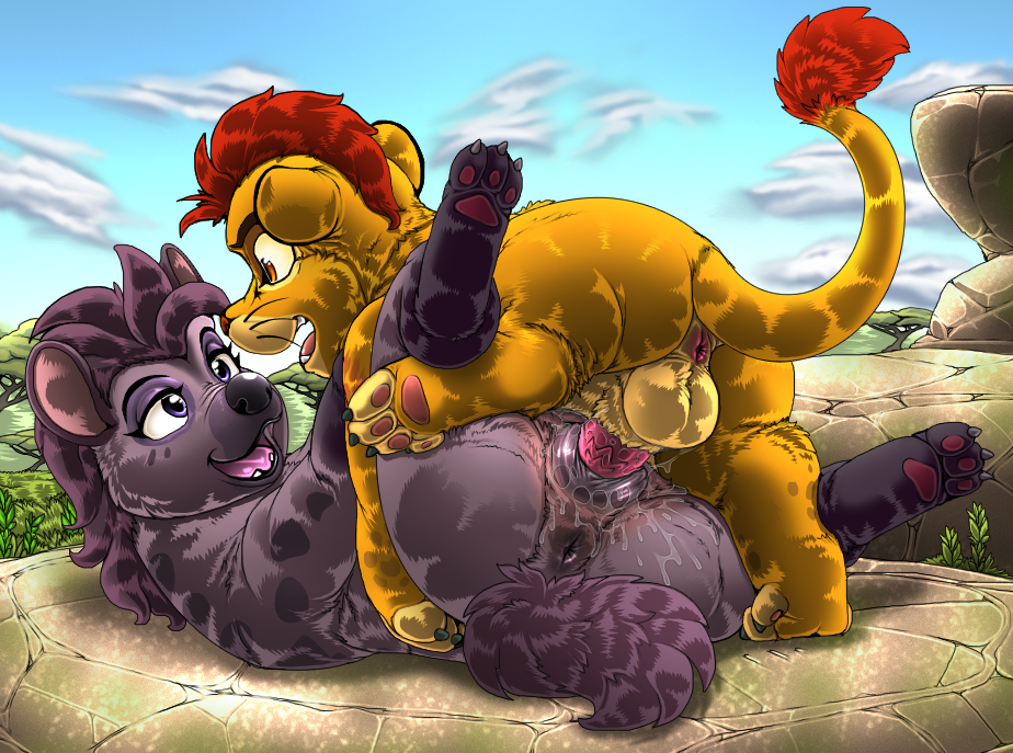 kion and fuli guard lion Guardians of the galaxy