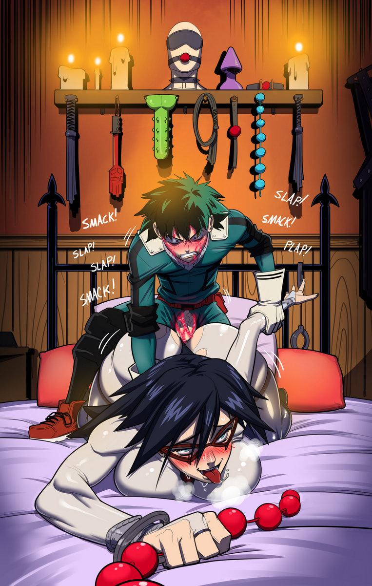 academia boku deku no female hero The sadist the evil within