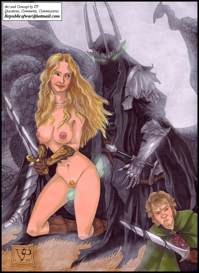 queen rings lord elf of the Guardians of the galaxy nude