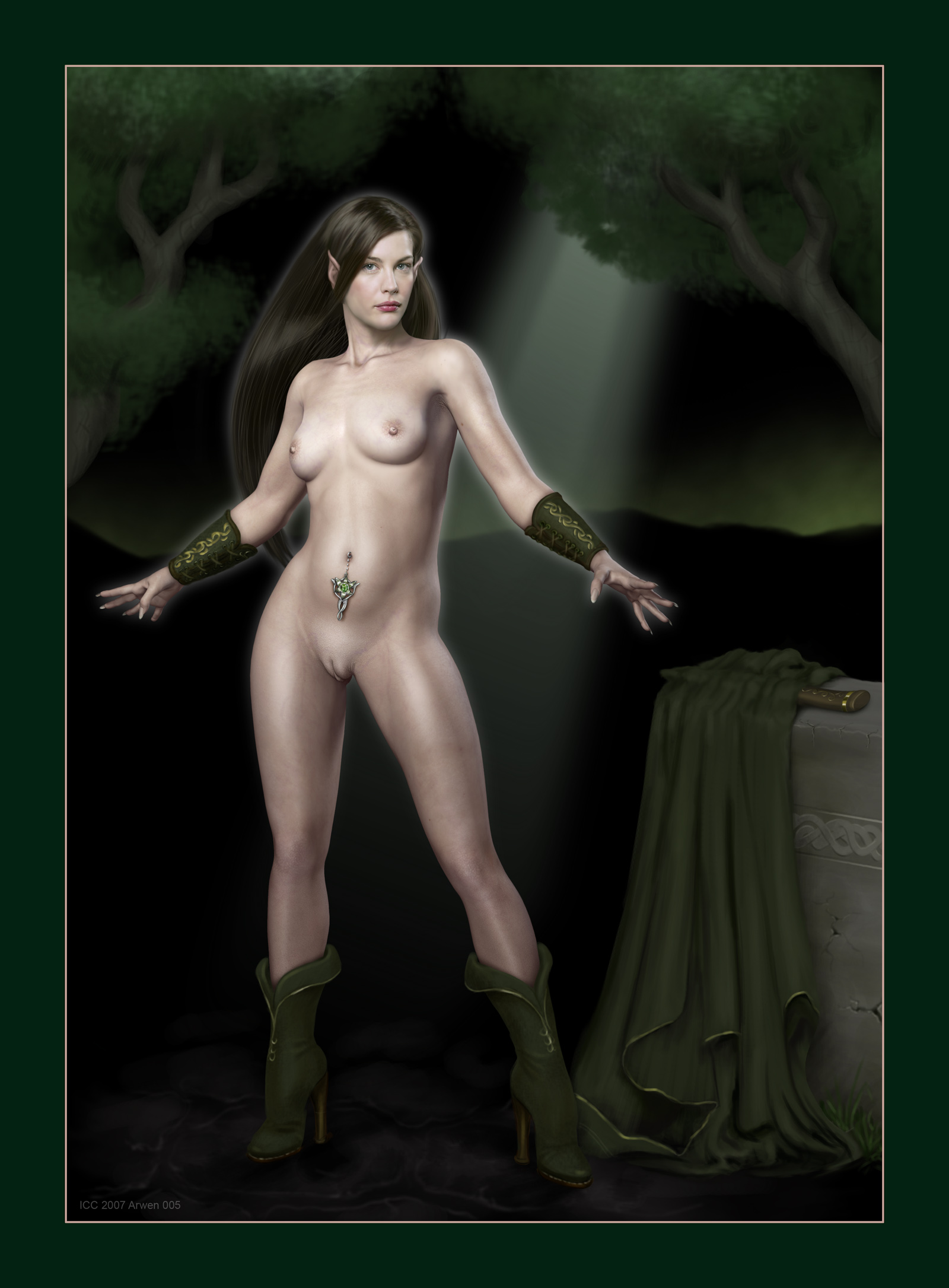 female lord orcs of rings the Trials in tainted space centaur