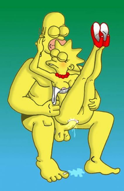 porn lisa simpson homer and Maiden in black