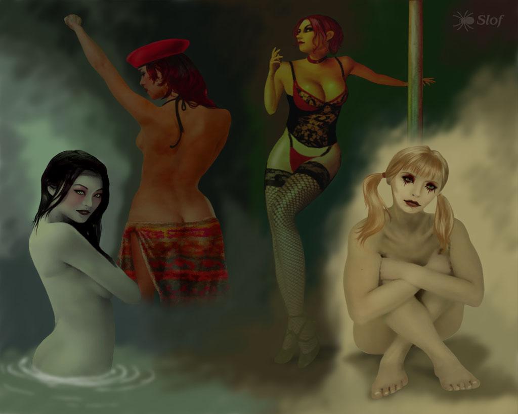 the vampire nudity masquerade bloodlines Persona 5 makoto