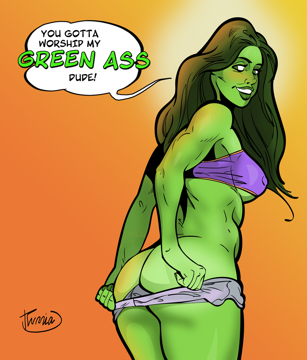 porn she-hulk comic Trials in tainted space penny