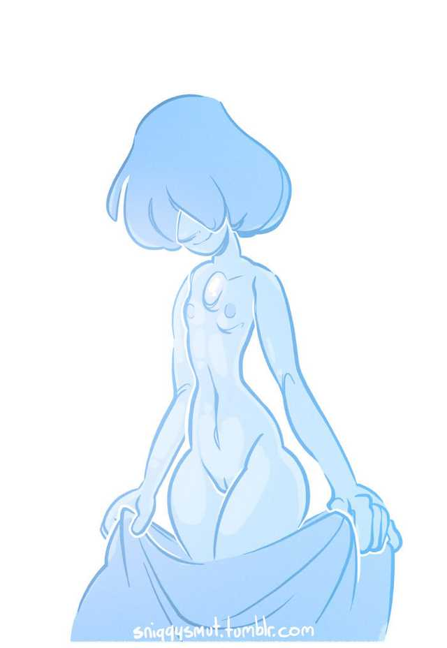 and steven blue yellow universe pearl pearl One piece hentai nico robin