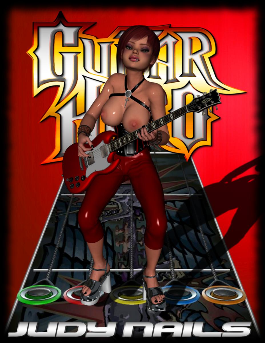 judy nails 2 hero guitar Kore wa zombie desu ka