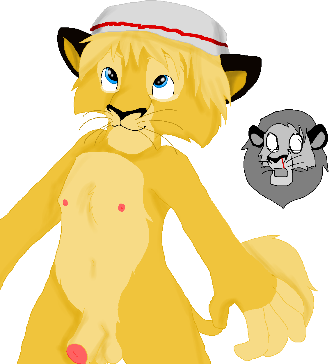 fuli the lion guard from Sabrina the teenage witch hentai
