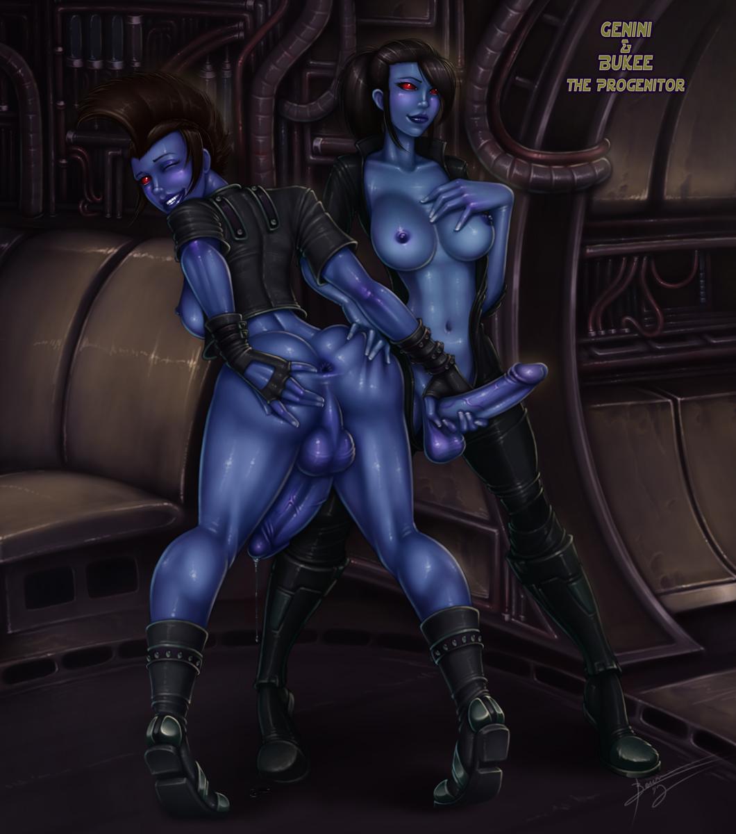 star the republic wars old Ahoge girl and dark skinned girl