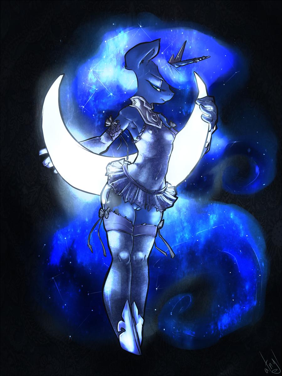 moon my pony princess little Black clover vs fairy tail