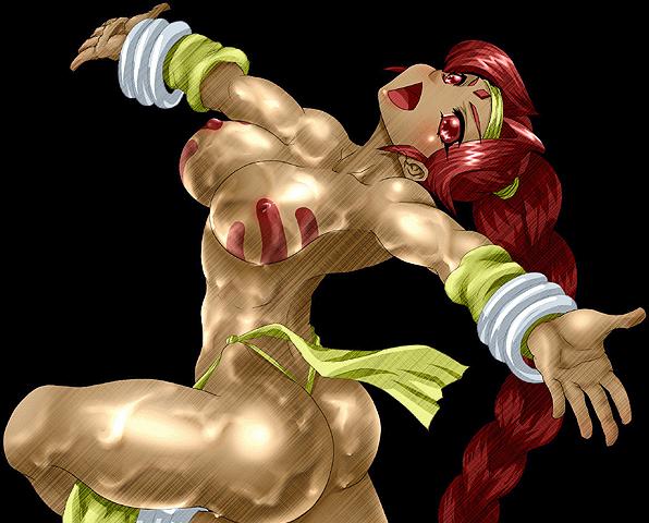 strip 5 abnormal edition fighter Seikon no qwaser boob sucking