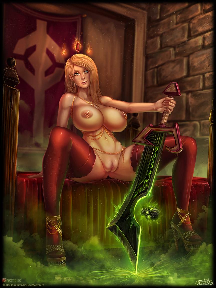 world of female human warcraft Fate stay night rider xxx
