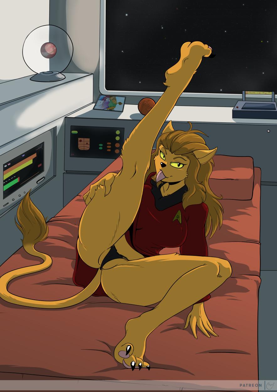 series trek m'ress the animated star Scheherazade (fate/grand order)
