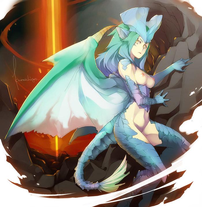 hunter monster dragon generations bubble My first girlfriend is a gal doujin