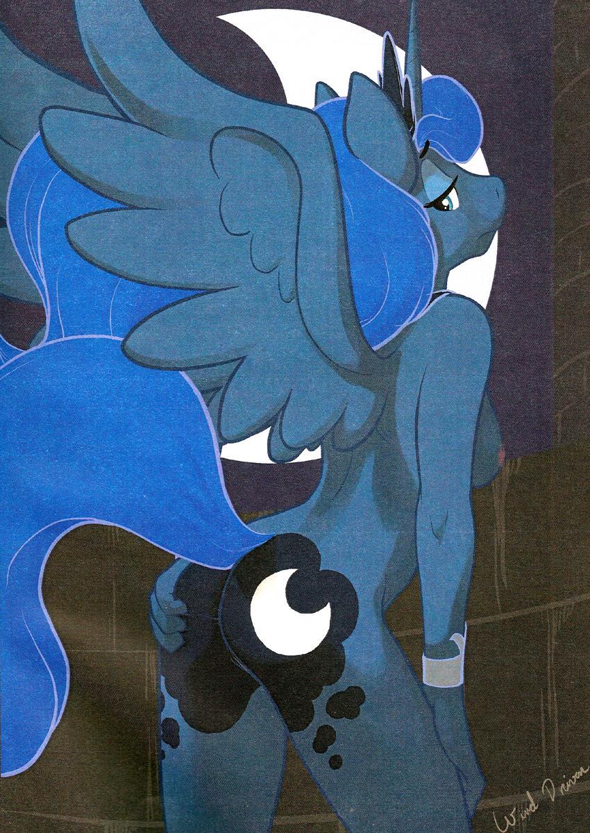little moon pony my princess Honoo no haramase oppai: