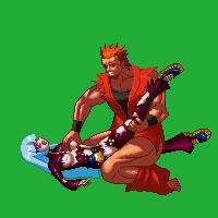 king art bra fighting of Akame ga kill leone bikini