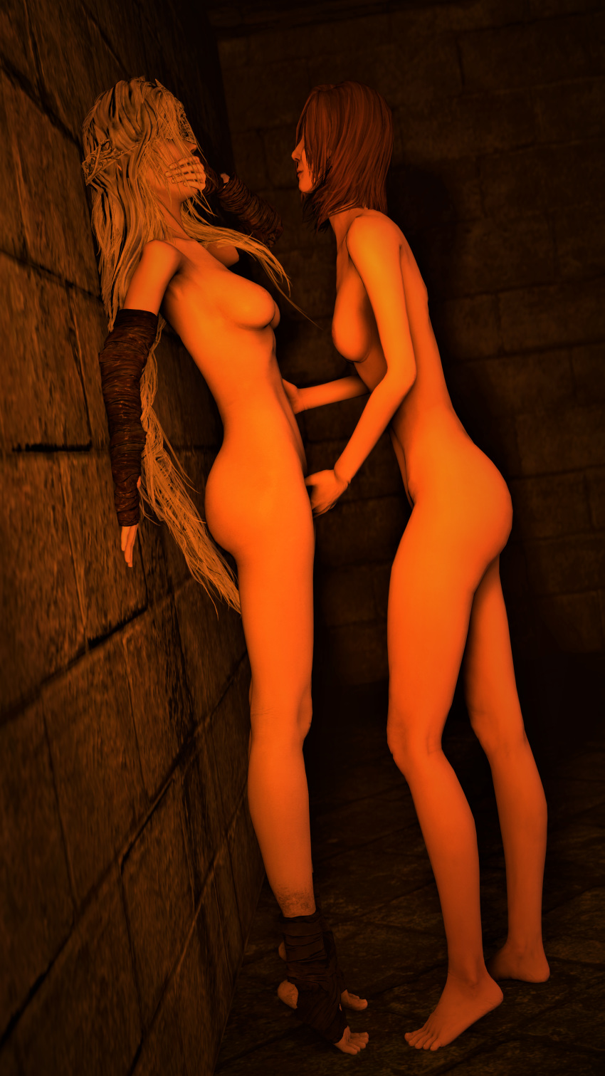 souls 1 bell gargoyle dark Mako from kill la kill