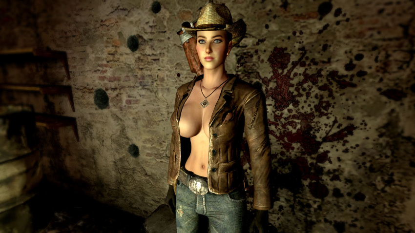to rex new vegas get in how fallout Buster whelp of the destruction swordsman