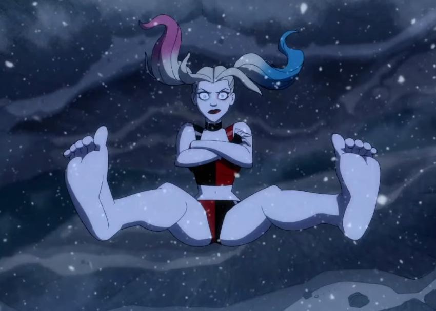ivy and lesbian quinn poison harley Aku no onna kanbu: full moon night