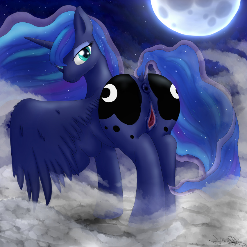 pony princess little my moon Miss kobayashi's dragon maid tohru naked
