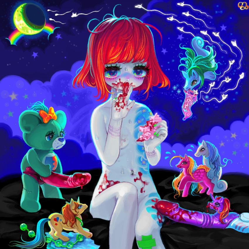 girls little nude my pony Sekai maou to shoukan shoujo no dorei majutsu