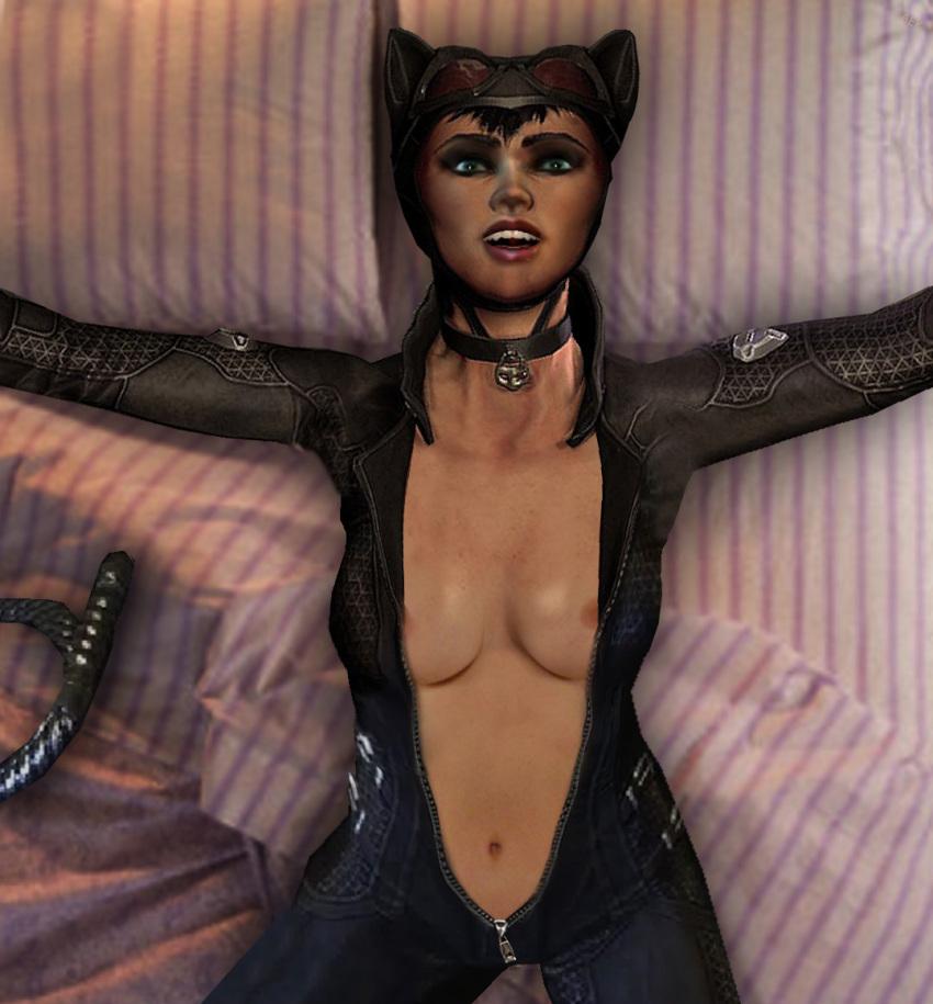 nude batman catwoman city arkham Armed girl's machiavellism